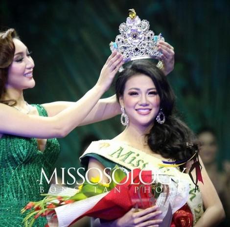 Đại diện Việt Nam đăng quang 'Hoa hậu Trái đất 2018'