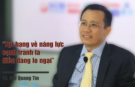 TS-LS Bùi Quang Tín: Việt Nam bị giảm bậc về năng lực cạnh tranh là điều đáng lo ngại