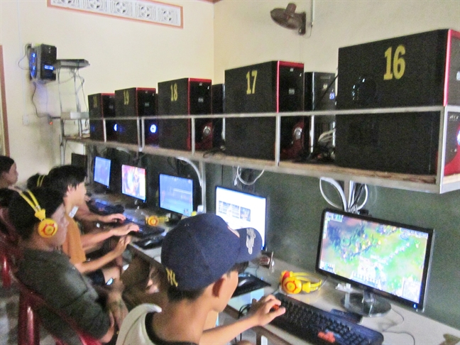 Nghien game online: 16 tuoi ma nhu 5 tuoi