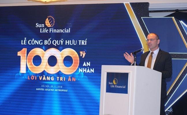 Sun Life Viet Nam tri an khach hang tham gia Quy huu tri tu nguyen