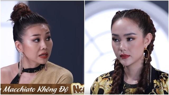 Tranh cai nay lua giua Thanh Hang va Minh Hang trong phan dien xuat cua cac thi sinh The Face