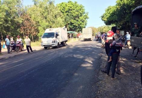 Xe quân sự va chạm với xe đông lạnh, hai quân nhân thiệt mạng