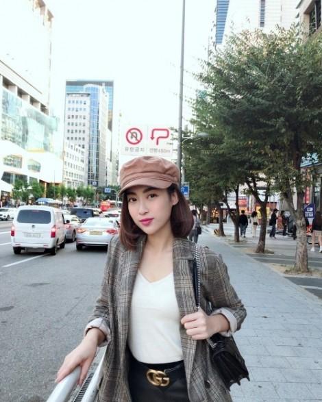 Mỹ nhân Việt lăng xê chiếc mũ baker cổ điển mùa thu đông