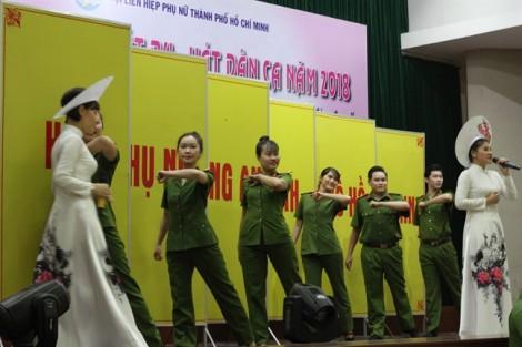 Hội Phụ nữ Công an TP.HCM đoạt giải nhất cuộc thi Liên hoan Hát ru và hát dân ca năm 2018