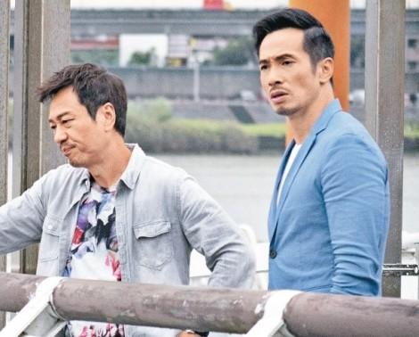 Diễn quá thật, hai tài tử TVB Trần Hào và Lê Diệu Tường làm kinh động đến cảnh sát tinh nhuệ Đài Loan