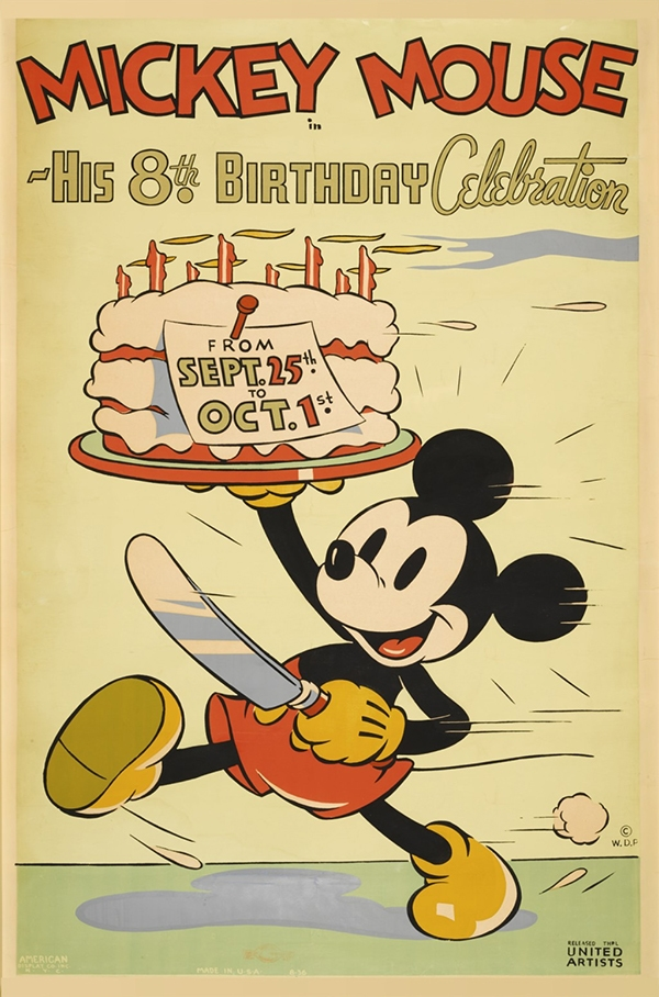 Chuot Mickey: niem vui khong tuoi qua gan 1 the ky