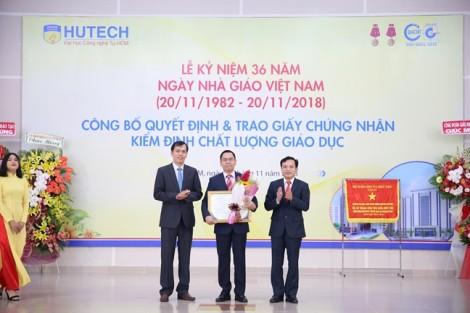 Đại học Công nghệ TP.HCM trở thành trường đầu tiên đạt kiểm định chất lượng theo chuẩn mới