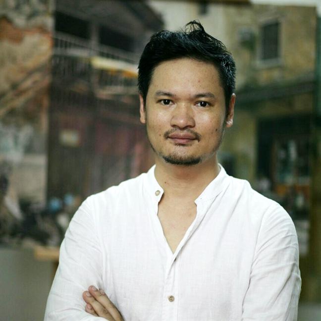Hoa si Pham Binh Chuong: 'Day la thoi cua  hoi hoa hien thuc'