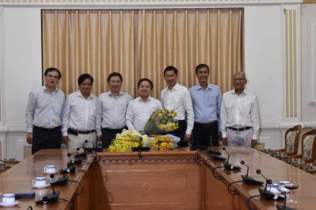 Ong Tu Luong duoc bo nhiem lam Pho giam doc So Thong tin va Truyen thong TP.HCM