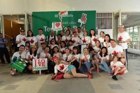 Gần 700 nhân viên và đại lý Manulife Việt Nam tham gia chương trình chạy bộ từ thiện Terry Fox 2018