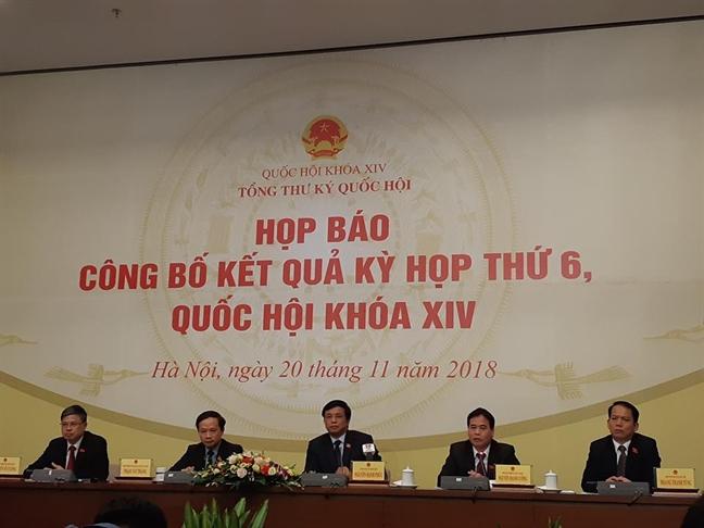 Tong Thu ky Quoc hoi: Luat Phong chong tham nhung rat manh me