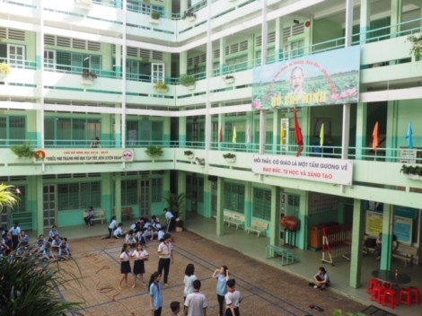 Nâng cánh ước mơ cho học trò nghèo trường Đức Trí