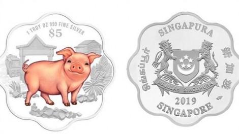 Singapore ra mắt đồng tiền quý mừng năm Kỷ Hợi