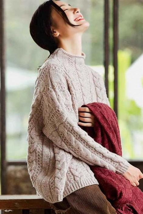 Muôn vàn sắc thái với sweater len