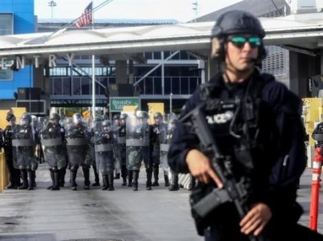 Mỹ đóng cửa khẩu biên giới chuẩn bị đối phó với đoàn người di cư từ Trung Mỹ