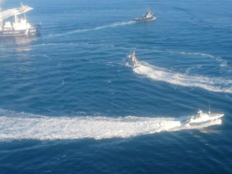 EU và NATO kêu gọi Nga và Ukraine kiềm chế sau vụ nổ súng ngoài khơi Crimea