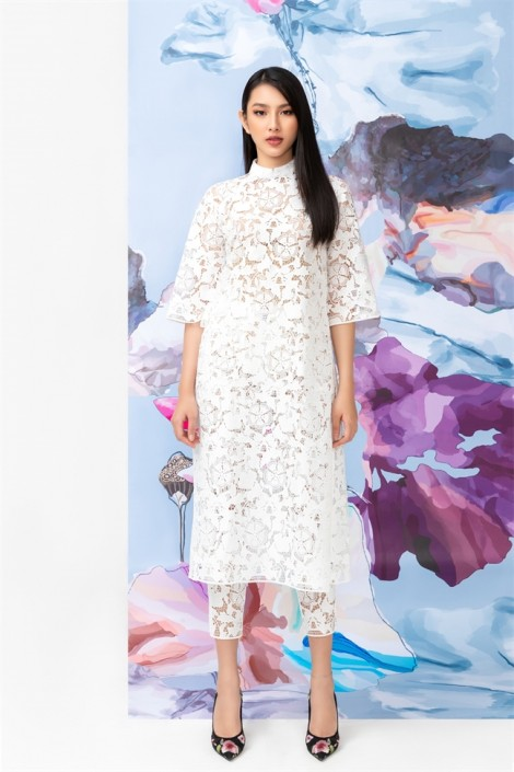 10 mẫu áo dài cách tân trẻ trung, năng động cho mùa lễ hội cuối năm