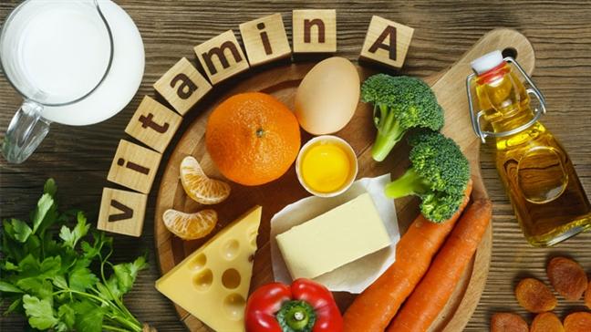 Da ban dep len bat ngo nho vitamin A