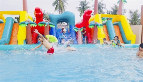 Đưa vào sử dụng công viên giải trí 3000m2 ở Sài Gòn