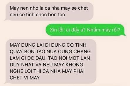 Cong an TP Ha Noi dang dieu tra vu nha bao bi doa 'giet ca nha'
