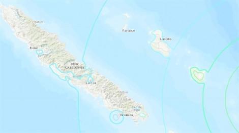 Cảnh báo sóng thần cao 3m sau trận động đất tại New Caledonia