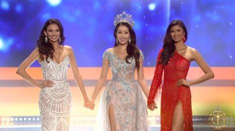 Minh Tú dừng chân top 10, đại diện Puerto Rico đăng quang 'Hoa hậu Siêu quốc gia 2018'