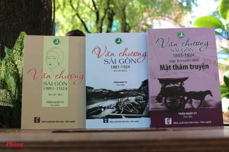 'Văn chương Sài Gòn': Nặng lòng tìm chất văn hóa