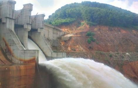 Thủy điện ở Thừa Thiên - Huế bắt đầu xả nước điều tiết đón lũ