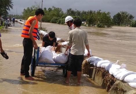 Bình Định: 5 người tử vong do mưa lũ