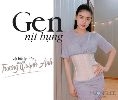 Cùng Trương Quỳnh Anh giải mã bí quyết giảm mỡ bụng cấp tốc đón tết với gen nịt bụng