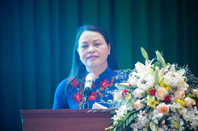 Hoi nghi lan thu 5 Ban Chap hanh TU Hoi LHPN Viet Nam khoa XII