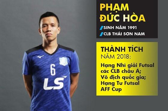 Nguyen Quang Hai nhan danh hieu 'Qua bong vang nam 2018'