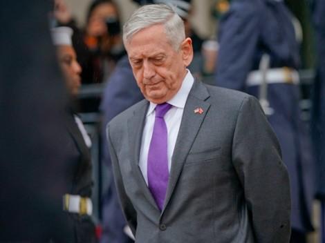 Tổng thống Trump muốn Bộ trưởng Quốc phòng Mattis lập tức nghỉ việc