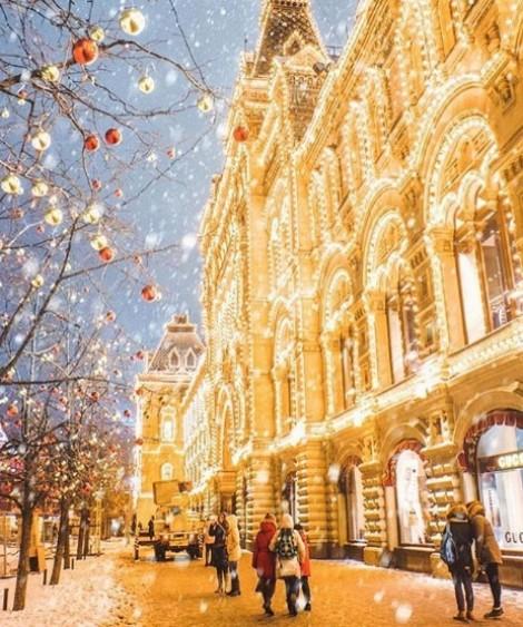 Giáng sinh lung linh trên khắp thế giới