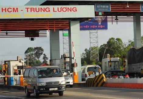 Ngừng thu phí cao tốc TP.HCM - Trung Lương từ 1/1/2019