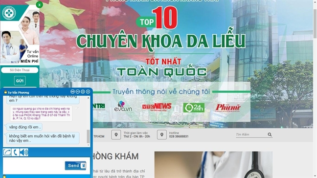 Phong kham Khang Thai muon danh bao de tu 'danh bong' minh