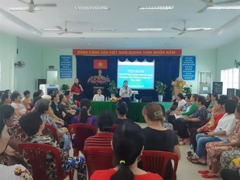 Mỗi cơ sở Hội thực hiện 2-3 nội dung 'An toàn cho phụ nữ và trẻ em'