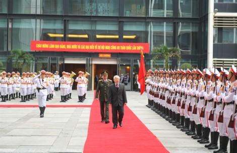 Tổng Bí thư, Chủ tịch nước Nguyễn Phú Trọng: Ngành công an phải chủ động nhận diện các nguy cơ, thách thức