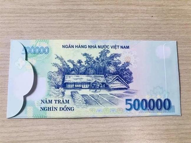 Co the bi phat neu ban bao li xi in hinh tien