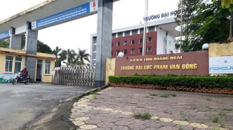 Xã hội hóa Trường đại học Phạm Văn Đồng: Xì xầm vì thiếu minh bạch