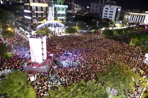 Cấm xe lưu thông đường đi bộ Nguyễn Huệ vào các đêm kỷ niệm 100 năm cải lương