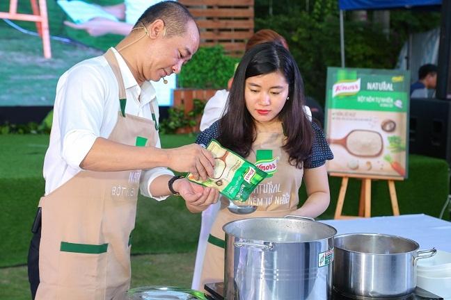 Chinh thuc ra mat Knorr Natural - bot nem tu nhien mang vi ngon nguyen ban cua bua com gia dinh Viet