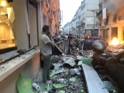 Paris: Nổ lớn tại tiệm bánh mì, nhiều người bị thương, phố xá hỗn loạn