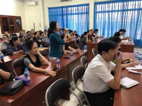 Đảng ủy phường 1, quận 4 đối thoại với hội viên phụ nữ