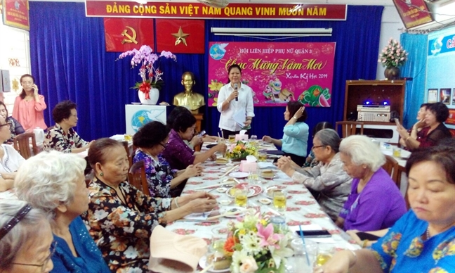 Quan 3: Hop mat chuc mung Xuan Ky Hoi