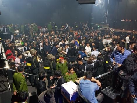 Phát hiện 100 người phê ma túy trong quán bar Vegas ở Huế