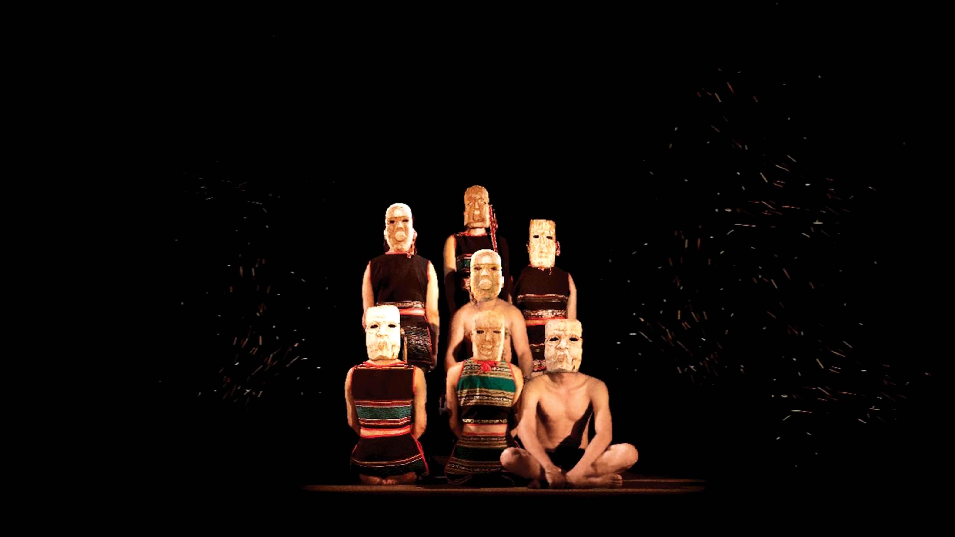 Chỉ hơn 60 phút cũng đủ để nhóm tác giả làm nên kịch xiếc À Ố show mang hồn Việt lên sân khấu hiện đại - ảnh: nhân vật cung cấp