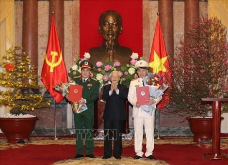 Phong hàm Đại tướng cho Bộ trưởng Bộ Công an và Chủ nhiệm Tổng cục Chính trị QĐND Việt Nam