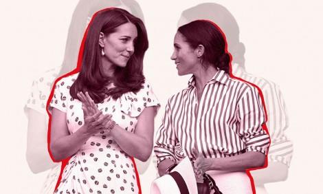 Hoàng gia Anh nhờ mạng xã hội 'giải cứu' Công nương Kate và Meghan
