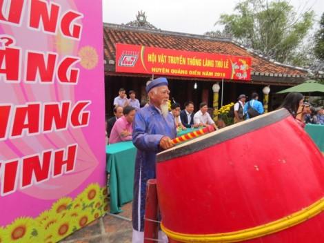 Tưng bừng khai hội vật làng Thủ Lễ - Thừa Thiên Huế